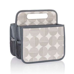 Thirty-One Double Duty Caddy - Deco Dots